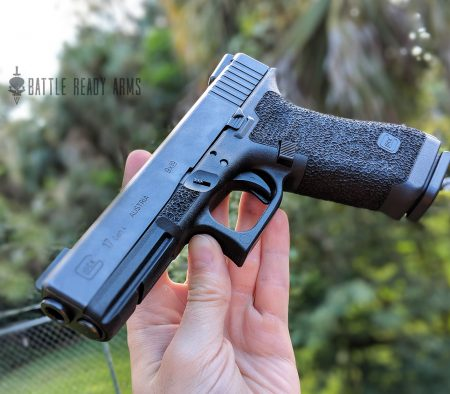 Custom Glock Stippling