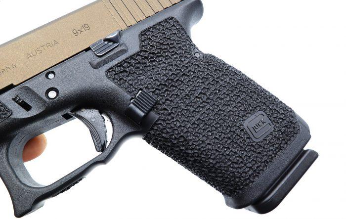 Glock 19 Guardian Pattern Stippling