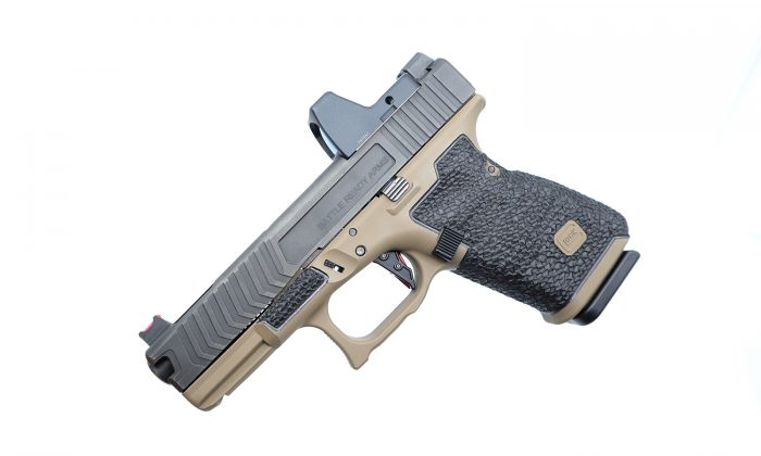 Glock 19 HD Borders and Stippling
