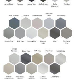 Cerakote Grey – Black Silver