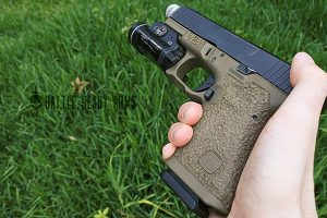 Hammered Glock Stippling