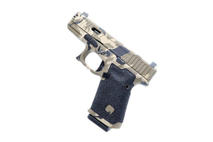 Glock 19 Grip Stippling Package