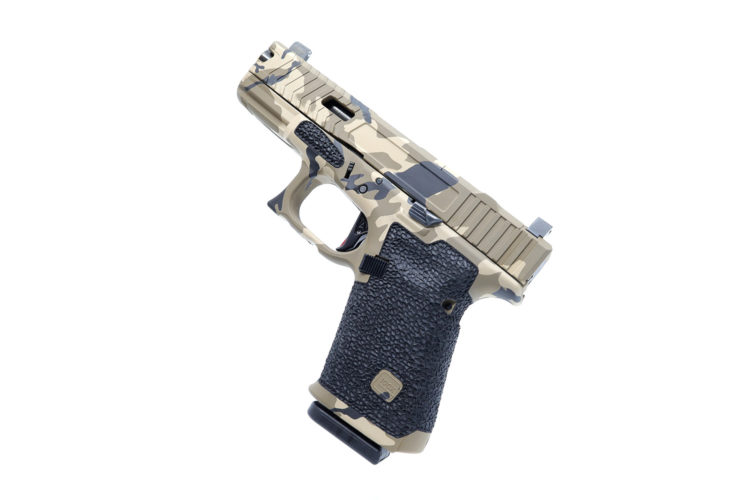 Glock 19 Grip Stippling Package