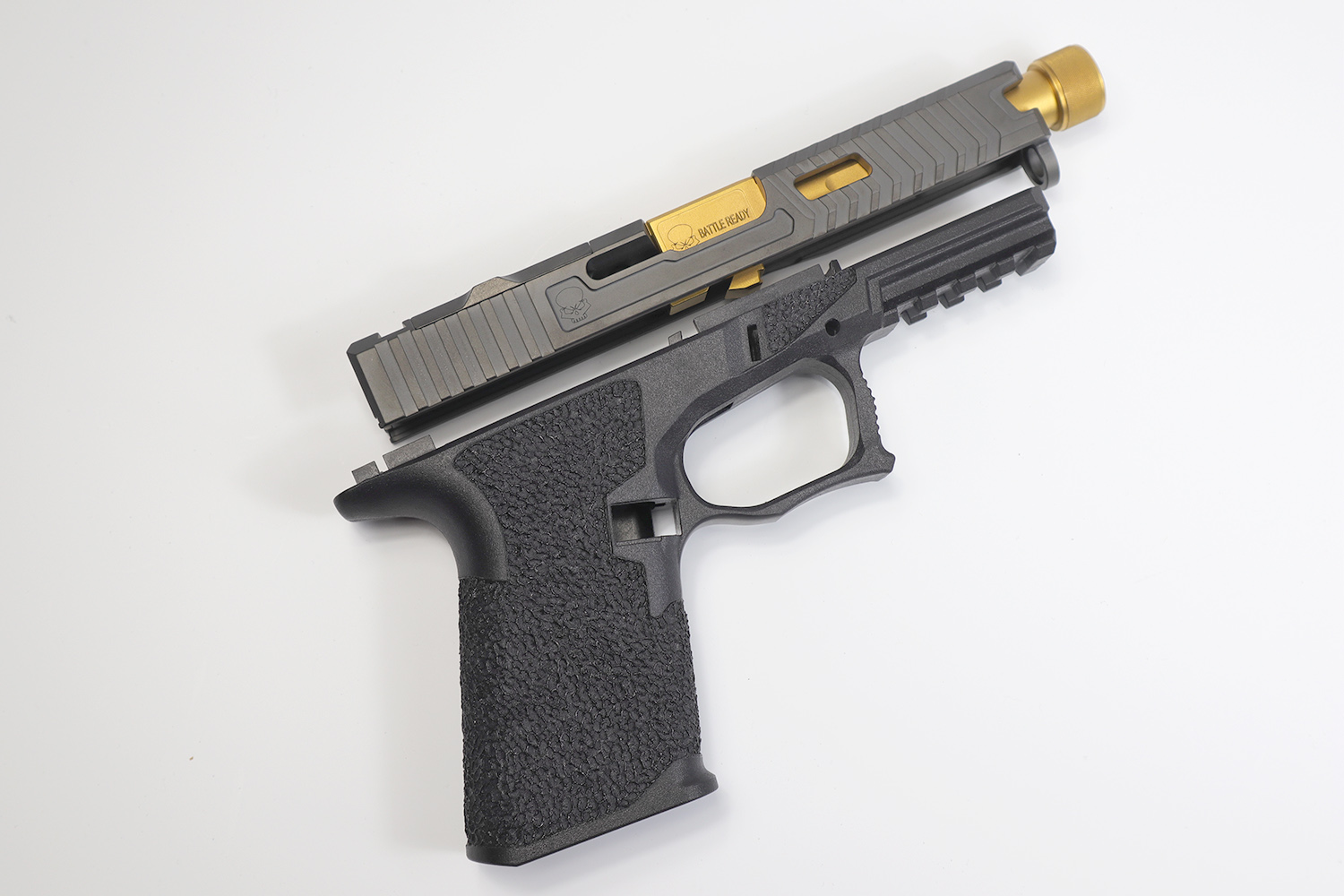 Polymer 80 Kit | Frame, Slide, & Barrel | Glock 19 80% Kit