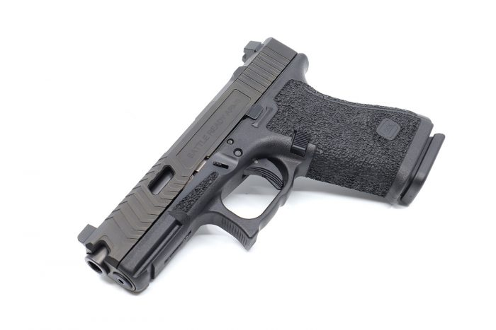 Glock 19 Stippling