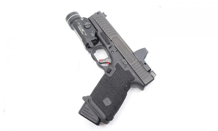 glock 19 stippling factr trigger