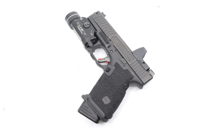 glock 19 stippling factr trigger