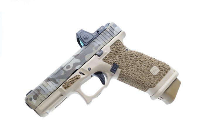Glock 19x Signature Stippling Package & Cerakote
