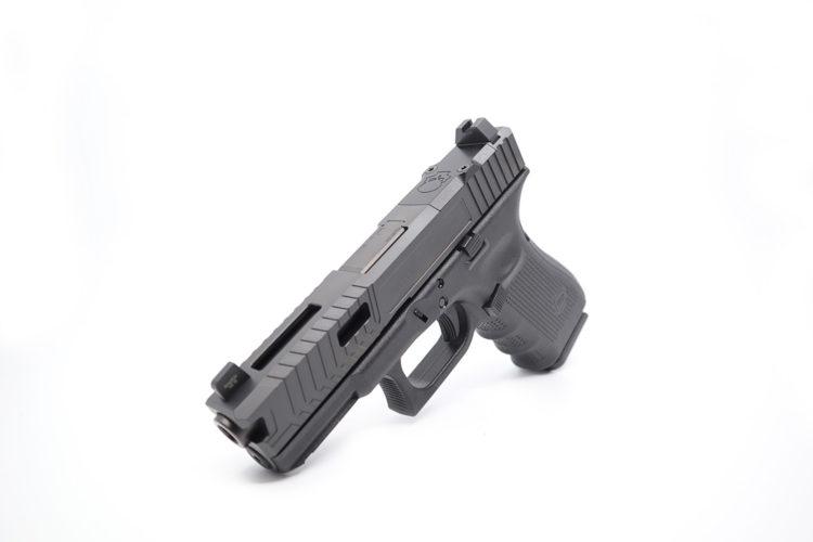 Glock 19 With Custom Cut Slide