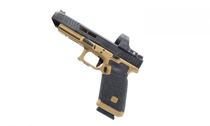 glock 34 custom stippling