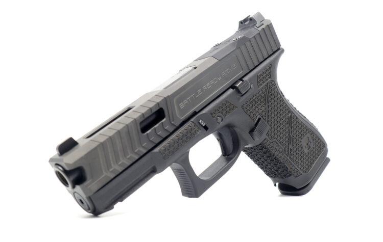 Glock19 Laser Stippling